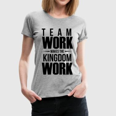 Kingdom Works T-Shirt for Women - Women's Premium T-Shirt