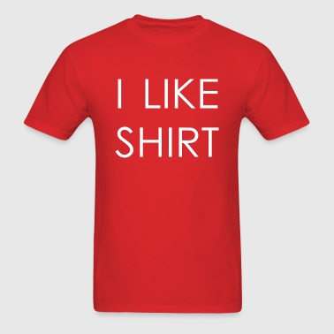 I like shirt - Men's T-Shirt