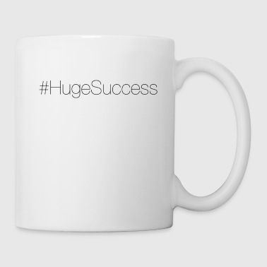 #HugeSuccess (Black) Mugs & Drinkware - Coffee/Tea Mug