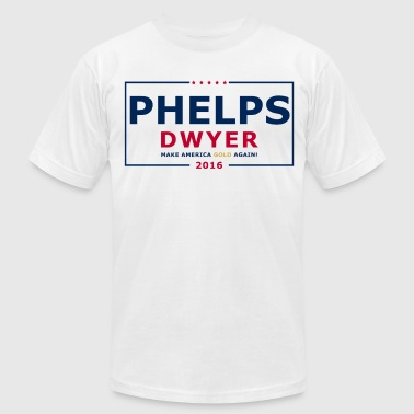 Phelps Dwyer 2016 - Men's T-Shirt by American Apparel