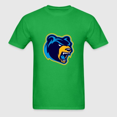 green swift bear shirt - Men's T-Shirt