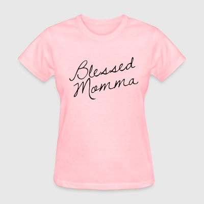 Blessed Momma Women's Tee - Women's T-Shirt
