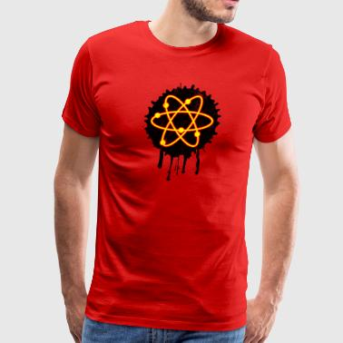 Atom Spalsh - Men's Premium T-Shirt