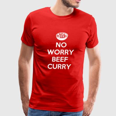 No worry beef curry - Men's Premium T-Shirt