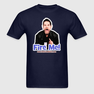 The Official Justin Michaels FIRE ME! T-shirt - Men's T-Shirt