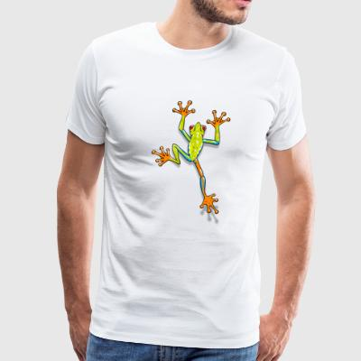 Tree Frog - Men's Premium T-Shirt