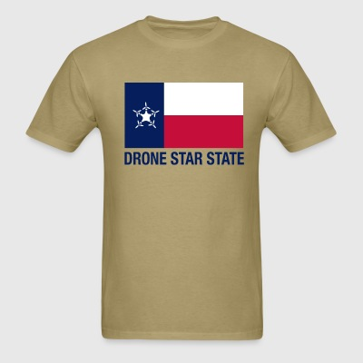 Drone Star State - Tan - Men's T-Shirt