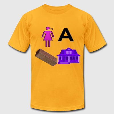 Brick House - Men's T-Shirt by American Apparel