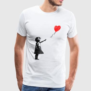 Balloon Girl - Men's Premium T-Shirt