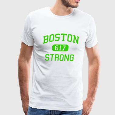 Boston 617 Strong - Men's Premium T-Shirt