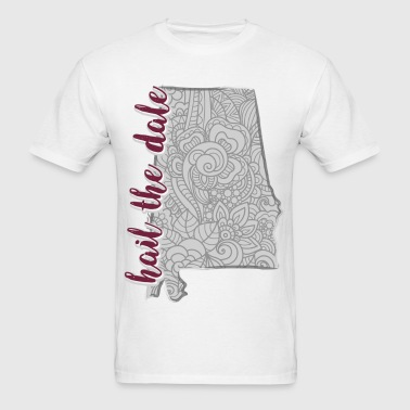 Hail the Dale State Zentangle - Men's T-Shirt