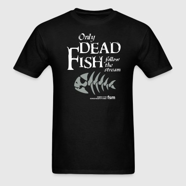 follow the stream - Men's T-Shirt