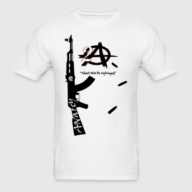 2A Anarchy AK47  - Men's T-Shirt
