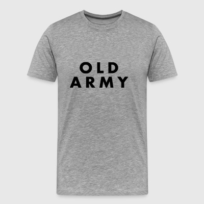 Vintage Old Army PT Shirt - Men's Premium T-Shirt