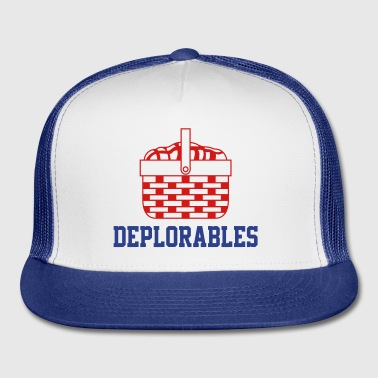 Basket of Deplorables Trucker Hat - Trucker Cap