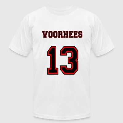 Voorhees Red Men Shirt American Apparel - Men's T-Shirt by American Apparel