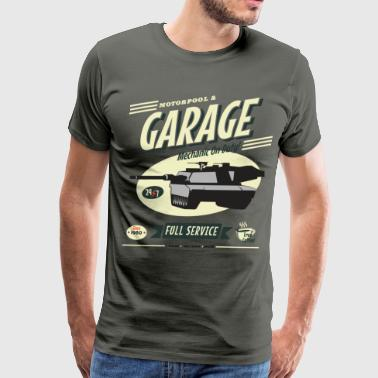 Vintage Tank Mechanic - Men's Premium T-Shirt