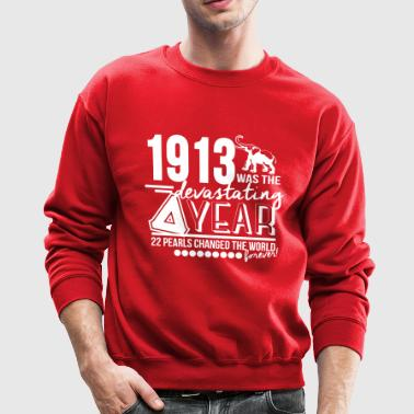 Delta Devastating year red - Crewneck Sweatshirt