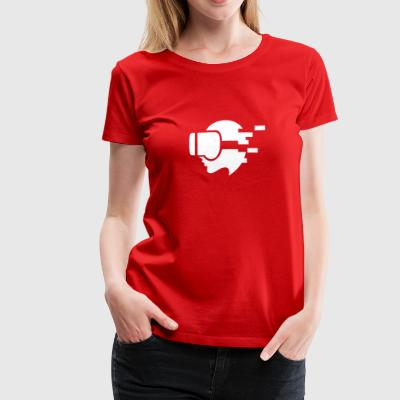 Hyper Virtual Reality - Women's Premium T-Shirt
