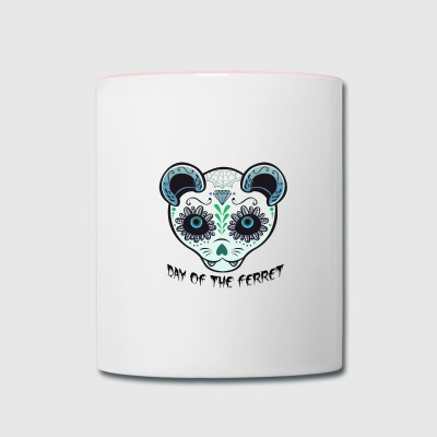 Day of the Ferret Contrast Coffee Mug - Contrast Coffee Mug