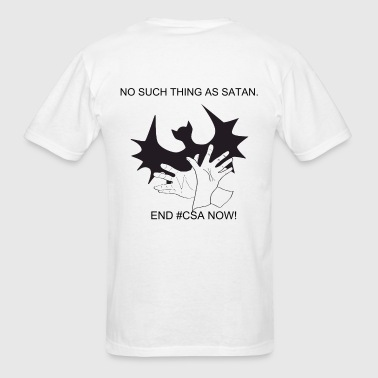 No Such Thing As Satan Men's T-shirt - Men's T-Shirt