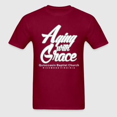 Aging with Grace - Men's T-Shirt