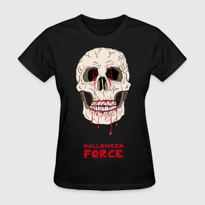 Halloween Bloody Skull  - Women's T-Shirt