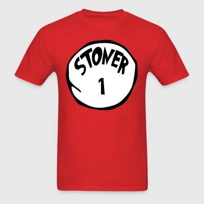 The Cat in the Hat: Stoner 1 T-Shirt (U) - Men's T-Shirt