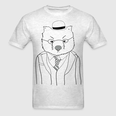 Wally The Wombat - Men's T-Shirt