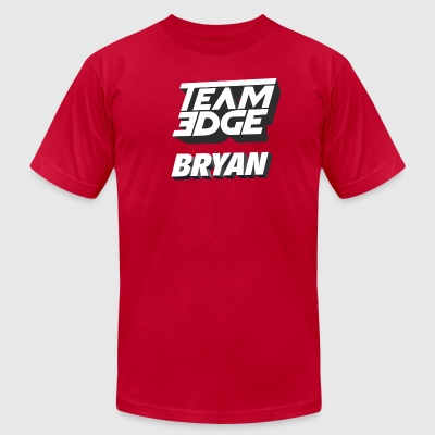 TeamEdge Bryan - Men's T-Shirt by American Apparel