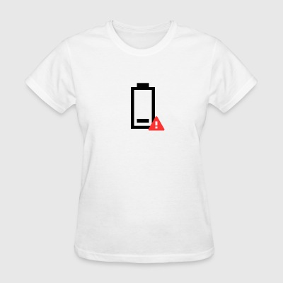 Low Battery Icon - Women's T-Shirt