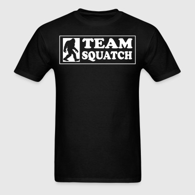 Team Squatch Classic Bigfoot Sasquatch T-Shirt - Men's T-Shirt