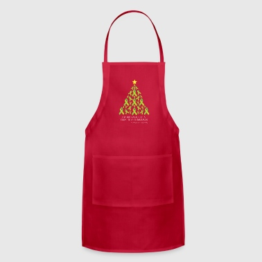 Lyme Free Christmas Aprons - Adjustable Apron