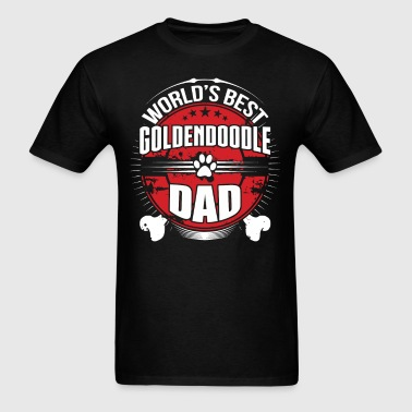 World's Best Goldendoodle Dad Dog Owner T-Shirt - Men's T-Shirt