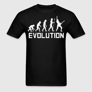 Guitar Player Evolution Funny Guitar Shirt - Men's T-Shirt