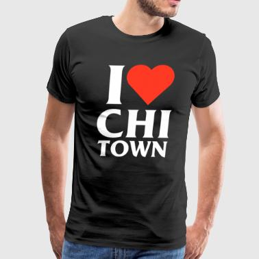 I Heart Chi-Town - Men's Premium T-Shirt