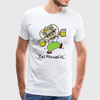 Tajmaholic Taj Mahal India - Men's Premium T-Shirt