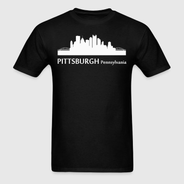 Pittsburgh Pennsylvania Downtown Skyline - Men's T-Shirt