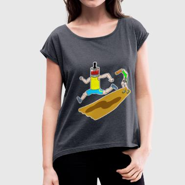 WINNER - Women's Roll Cuff T-Shirt