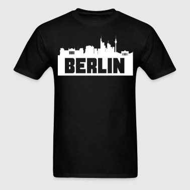 Berlin Germany Skyline Silhouette - Men's T-Shirt