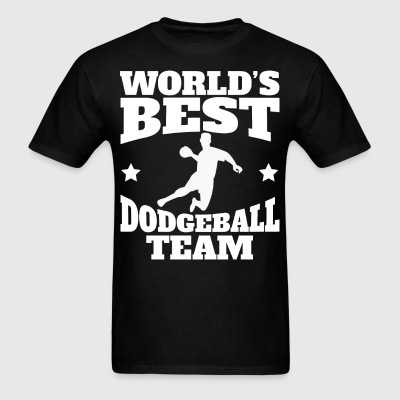 Retro World's Best Dodgeball Team - Men's T-Shirt