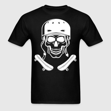 Skater Skull Skateboarding - Men's T-Shirt