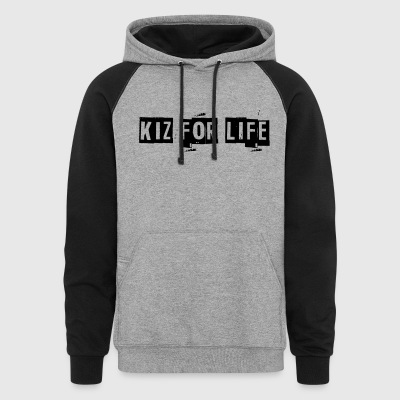 Kizomba for Life Men's Hoodie - Colorblock Hoodie