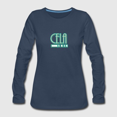 cela..5 - Women's Premium Long Sleeve T-Shirt