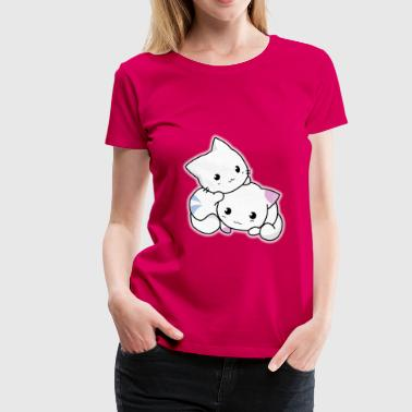 Cute cats - Women's Premium T-Shirt