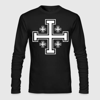 Knight - Men's Long Sleeve T-Shirt by Next Level