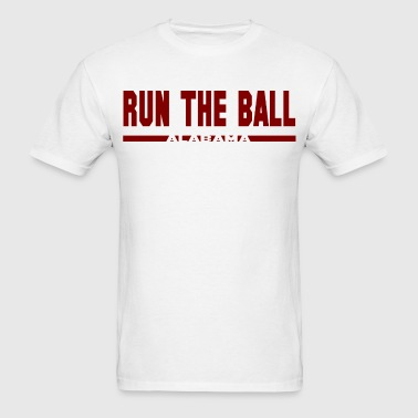 Alabama Run The Ball T-Shirt - Men's T-Shirt