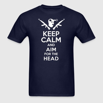 Counterstrike T-shirt Head-shot Cyka Blyat - Men's T-Shirt