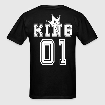 Valentine's Day Matching Couples King Jersey - Men's T-Shirt