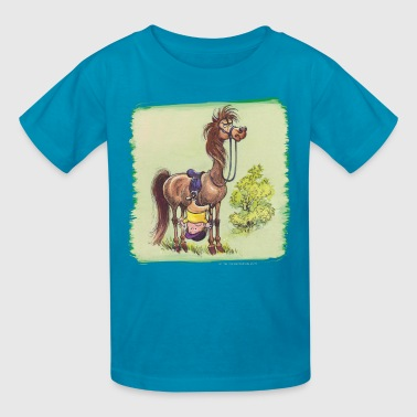 Thelwell Rider Hangover under Pony - Kids' T-Shirt